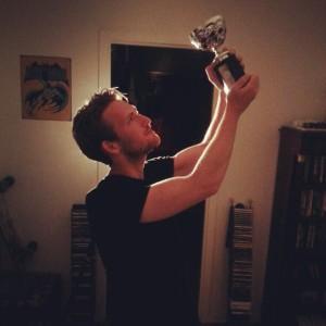 Robin vann SM i geografi (Foto: Leonard Jägerskiöld Nilsson)