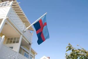 Bohusläns inofficiella flagga (Foto: Camilla Westerlund)