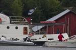 Åländsk och finsk flagga (Foto: Mikael Westerlund)