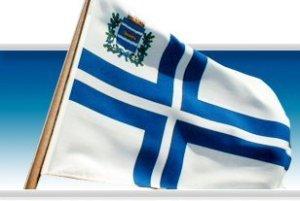 Nylands jaktklubbs flagga idag (Foto: NJK)