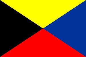 Signalflagga Z