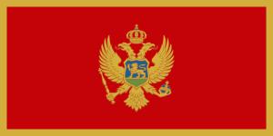 Montenegros flagga