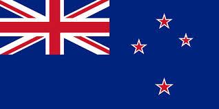 Nya Zeelands flagga idag
