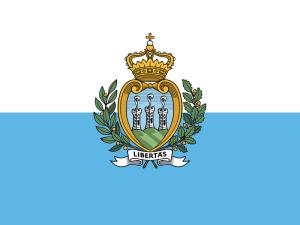 San Marinos flagga