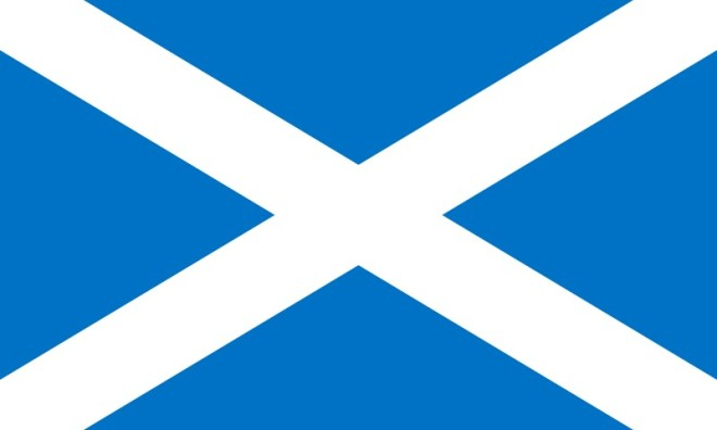 Skottlands flagga