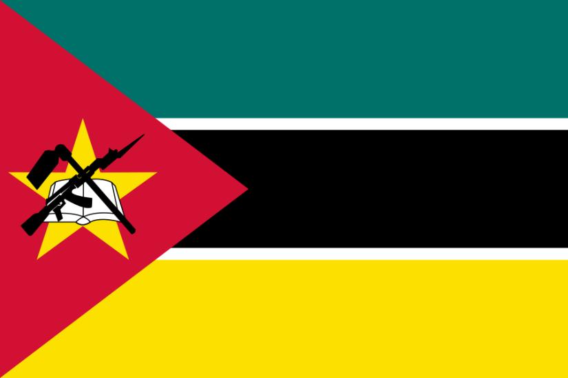 Mocambiques flagga