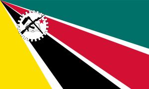 Moçambiques flagga 1975 - 1983