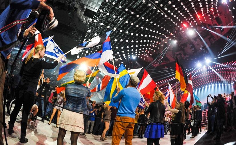 Imponera med flaggkunskap underEurovision