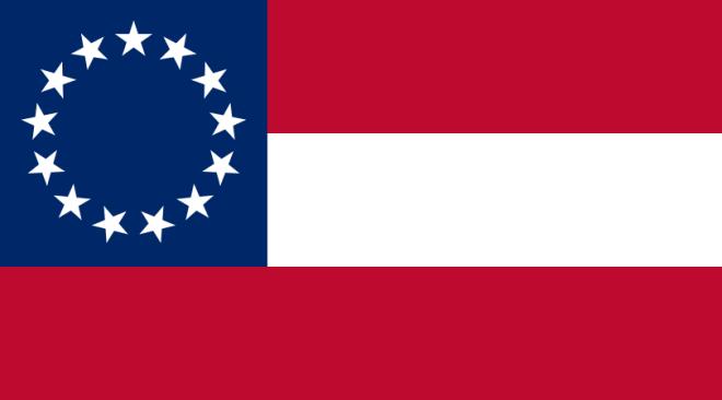 Den sista riktiga Sydstatsflaggan
