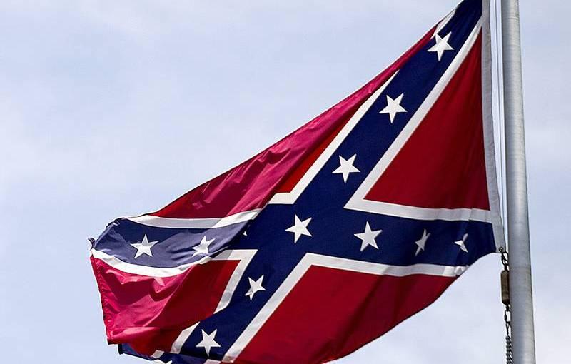 Sydstatsflaggan halas i SouthCarolina