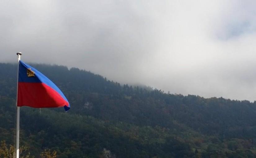 En flagga som värmer ikylan