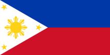 Filippinernas flagga