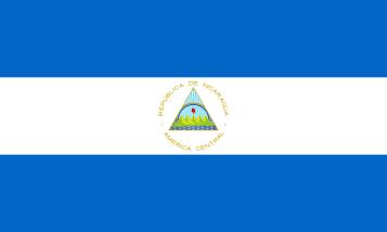 Nicaraguas flagga