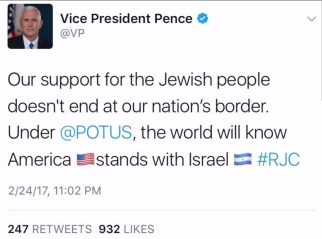 Mike Pence tweet