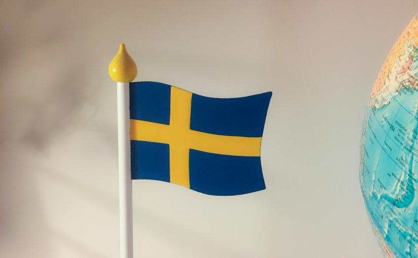 Inför nationaldagen och svenska flaggansdag