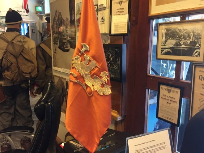 Kung Håkons bordsflagga
