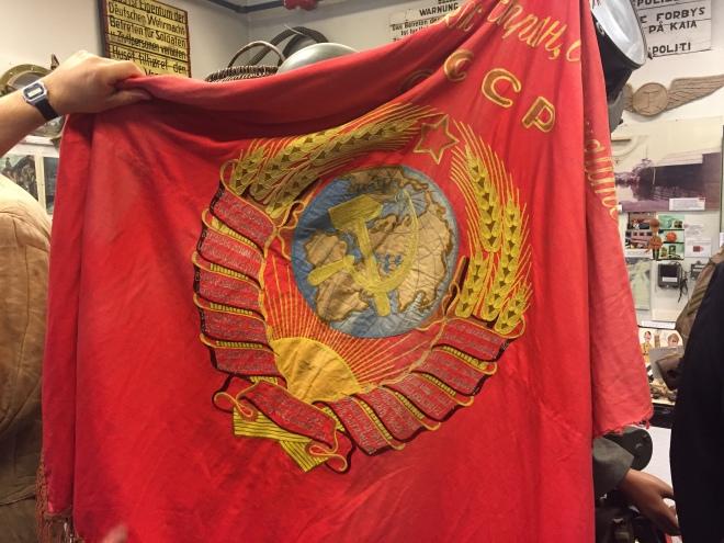 Sovjetisk flagga
