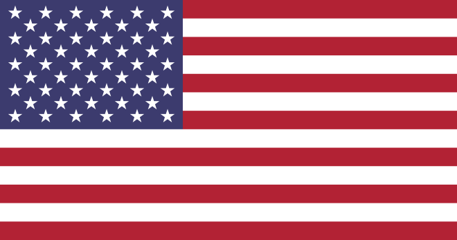 USA:s flagga