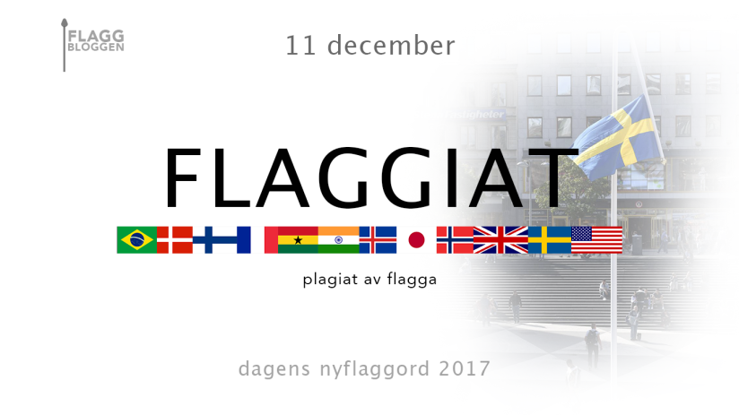 Dagens nyflaggord 11 december: Flaggiat