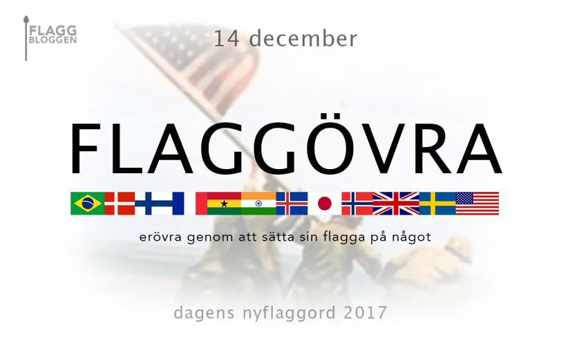 Dagens nyflaggord 14 december:Flaggövra