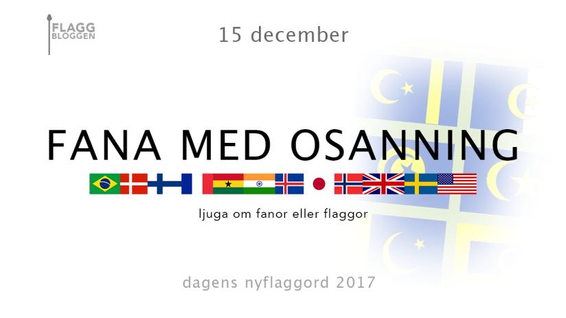 Dagens nyflaggord 15 december: Fana medosanning