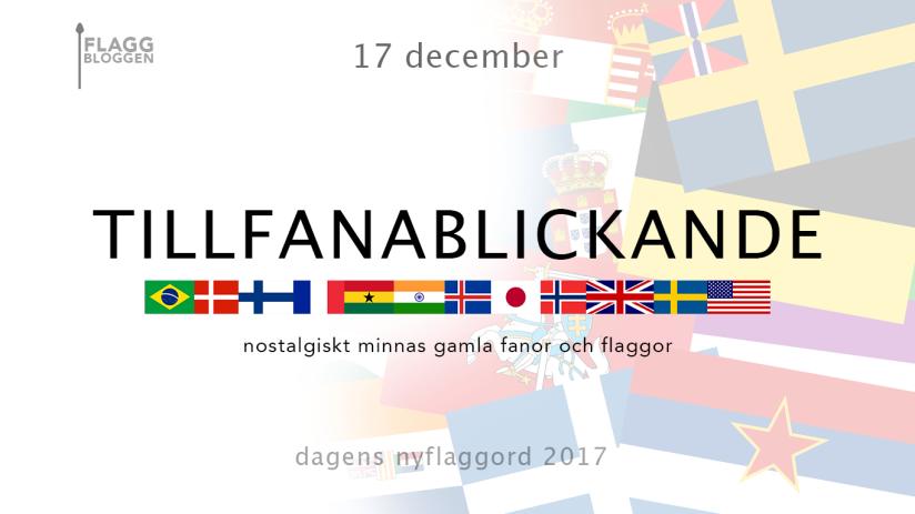 Dagens nyflaggord 17 december: Tillfanablickande