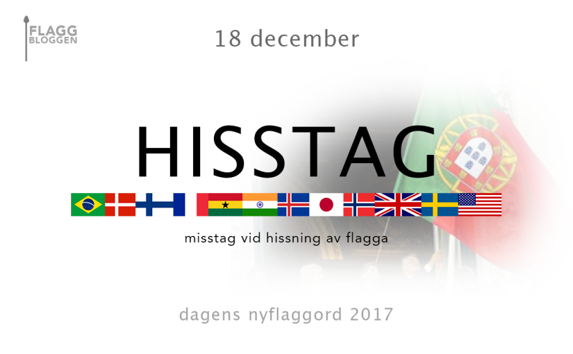 Dagens nyflaggord 18 december:Hisstag