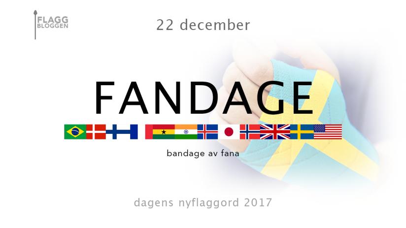 Dagens nyflaggord 22 december:Fandage