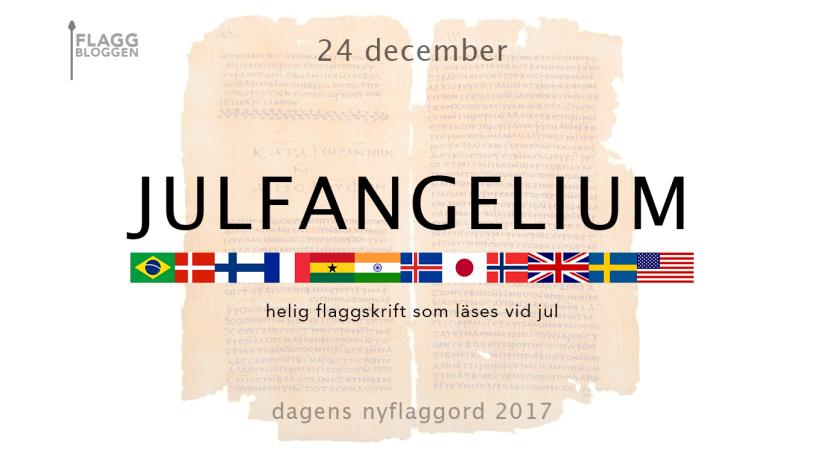 Dagens nyflaggord 24 december:Julfangelium