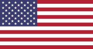 USA:s flagga med 50 stjärnor